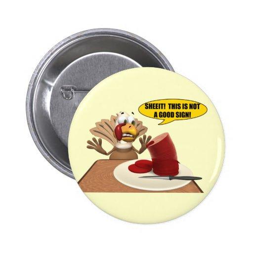 Botão - sinais de Thankgiving Botons