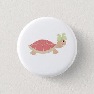 botão vermelho da tartaruga da falta bóton redondo 2.54cm