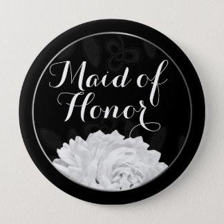 Botão Wedding misturado da madrinha de casamento Bóton Redondo 10.16cm