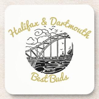 Botões da porta copos da bebida de Halifax & de
