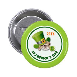 Botões do presente do dia de St Patrick engraçado Bóton Redondo 5.08cm
