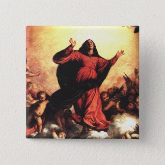 Bóton Quadrado 5.08cm A suposição o Virgin