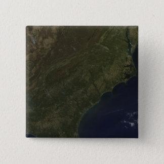 Bóton Quadrado 5.08cm Cores da queda nos Estados Unidos do sudeste