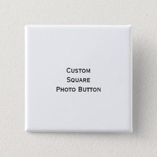 Bóton Quadrado 5.08cm Criar o botão quadrado personalizado costume do