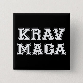 Bóton Quadrado 5.08cm Krav Maga