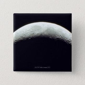 Bóton Quadrado 5.08cm Lua crescente