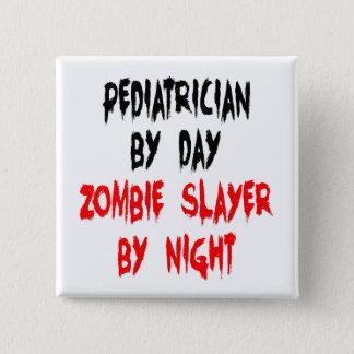 Bóton Quadrado 5.08cm Pediatra do assassino do zombi