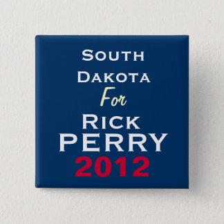 Bóton Quadrado 5.08cm South Dakota para o botão da campanha de Rick