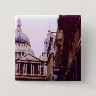 Bóton Quadrado 5.08cm St Paul, Londres