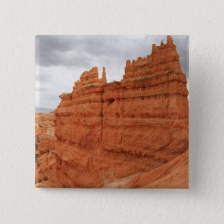 Bóton Quadrado 5.08cm Thor's_Hammer_Bryce_Canyon_Utah, Estados Unidos