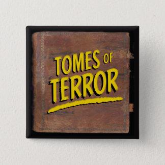 """Bóton Quadrado 5.08cm """"Tomos do botão 1946 quadrado do logotipo do"""