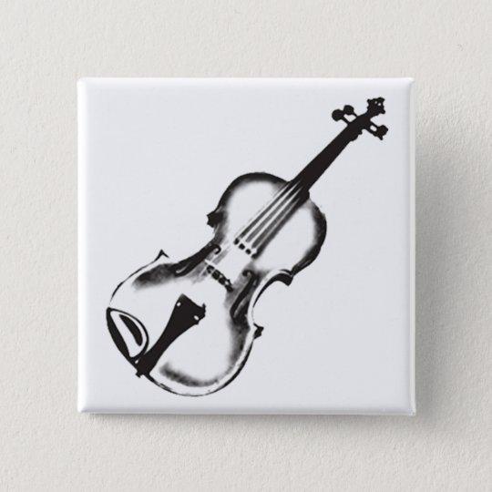 Boton Quadrado 5 08cm Violino Ou Violino Desenho Zazzle Portugal