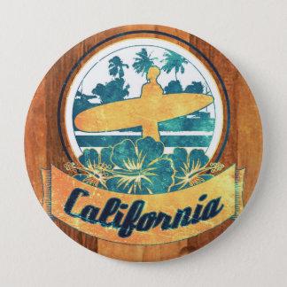 Bóton Redondo 10.16cm Prancha de Califórnia
