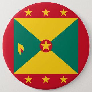 Bóton Redondo 15.24cm Bandeira de Grenada