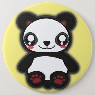 Bóton Redondo 15.24cm Botão engraçado da panda de Kawaii