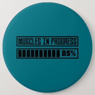 Bóton Redondo 15.24cm Muscles o exercício em andamento Z8gnr