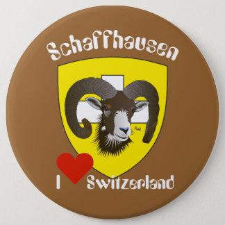 Bóton Redondo 15.24cm Schaffhausen Suíça Button