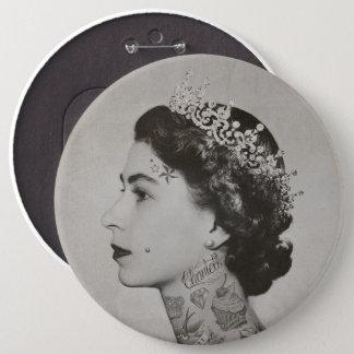 Bóton Redondo 15.24cm tatoo da rainha