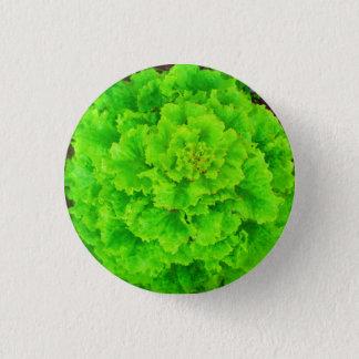 Bóton Redondo 2.54cm A alface seja botão