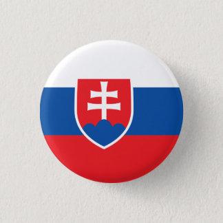 Bóton Redondo 2.54cm Bandeira do botão de Slovakia