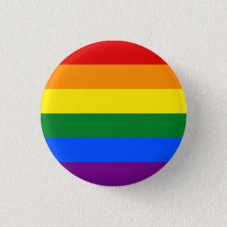 Bóton Redondo 2.54cm Botão alegre da bandeira