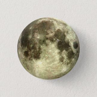 Bóton Redondo 2.54cm Botão da Lua cheia