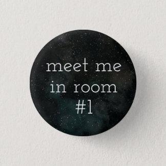 Bóton Redondo 2.54cm Botão da sala #1 (Coen)