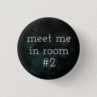 Bóton Redondo 2.54cm Botão da sala #2 (Roma)