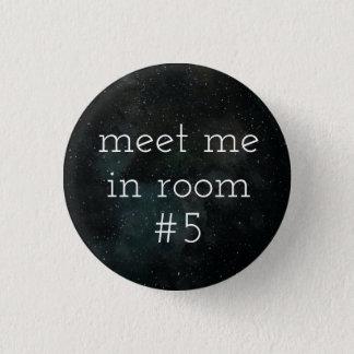 Bóton Redondo 2.54cm Botão da sala #5 (Siret)