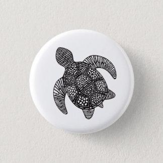 Bóton Redondo 2.54cm Botão da tartaruga de mar