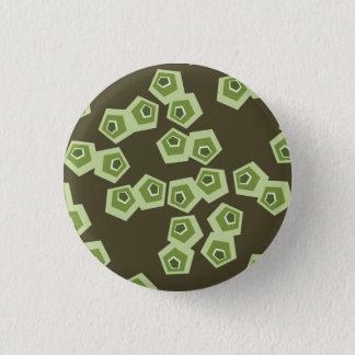 Bóton Redondo 2.54cm Botão de Shell abstrato da tartaruga