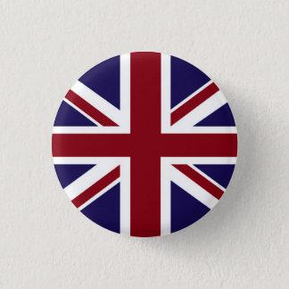 Bóton Redondo 2.54cm Botão de Union Jack