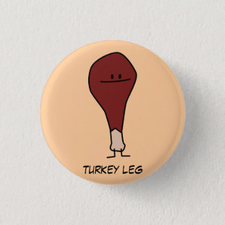 Bóton Redondo 2.54cm Botão do Pin do pé de turquia