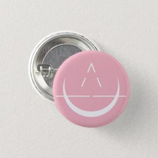 Bóton Redondo 2.54cm Botão do rosa do símbolo da lua de ELOSIN