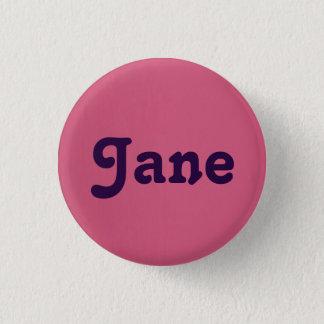 Bóton Redondo 2.54cm Botão Jane
