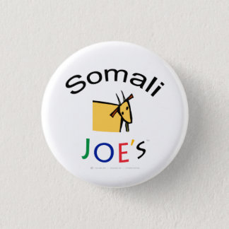 Bóton Redondo 2.54cm Botão oficial de Foodie da cabra do miúdo de Joe
