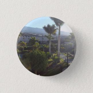 Bóton Redondo 2.54cm Crachá do botão da paisagem de Tenerife