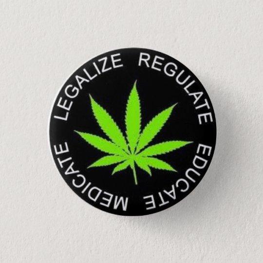 Bóton Redondo 2.54cm Legalize It