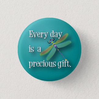 Bóton Redondo 2.54cm Libélula - cada dia é um presente precioso