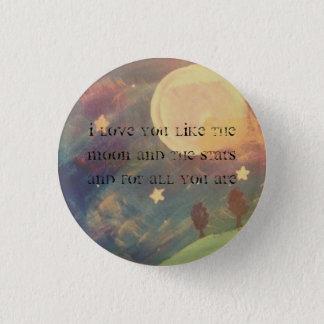 Bóton Redondo 2.54cm lua