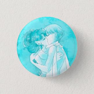 Bóton Redondo 2.54cm Michiru & Haruka - botão do casamento