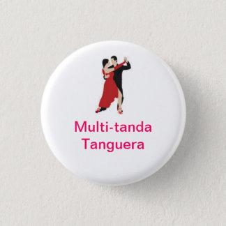 Bóton Redondo 2.54cm Multi-tanda Tanguera