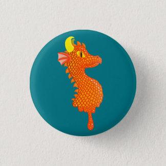 Bóton Redondo 2.54cm Pin de derretimento do dragão