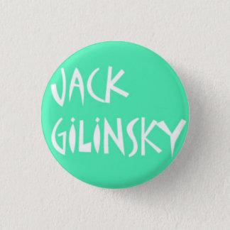 Bóton Redondo 2.54cm Pin. de Jack Gilinsky (azul de Tiffany)