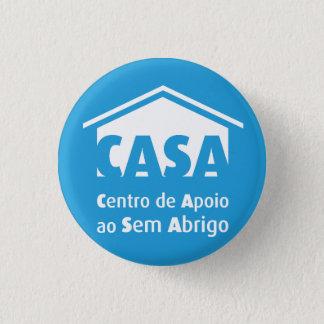 Bóton Redondo 2.54cm Pin do CASA