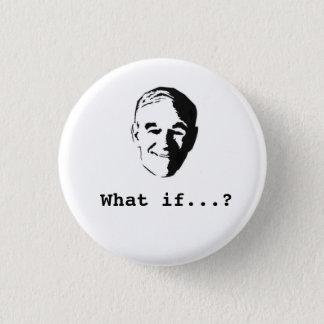 """Bóton Redondo 2.54cm Ron Paul """"que se…?"""" botão"""