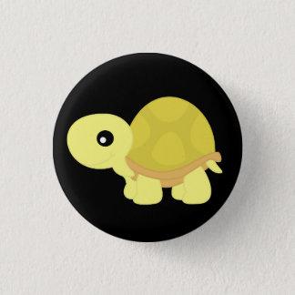 Bóton Redondo 2.54cm Tartaruga amarela