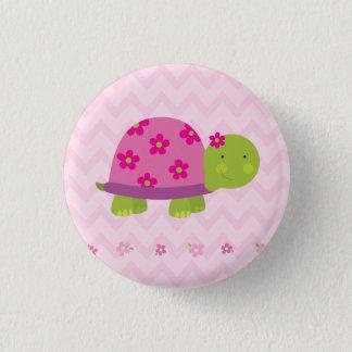 Bóton Redondo 2.54cm Tartaruga bonito botão personalizado para meninas