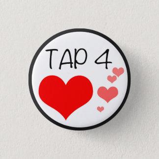Bóton Redondo 2.54cm Torneira do PERISCÓPIO para o Pin dos corações
