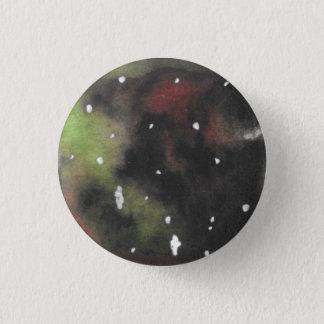 Bóton Redondo 2.54cm Verde e obscuridade - botão rodado vermelho de